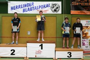 Blautalpokalturnier: Daniel 2. Platz U14