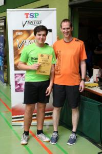 Yannick Bührle: Gewinner des TSP Ausrüstervertrags  beim Blautalpokalturnier