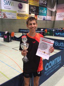 Etienne Schultz - Sieger des Qualifikations-Ranglistenturnier BaWü