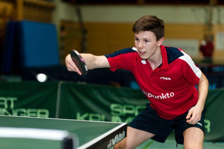 Daniel Kern gewinnt U18 Bezirksrangliste