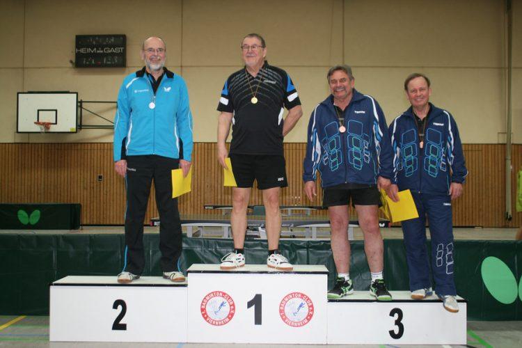 Ba-Wü-EM Senioren: Gert Lang wird Zweiter